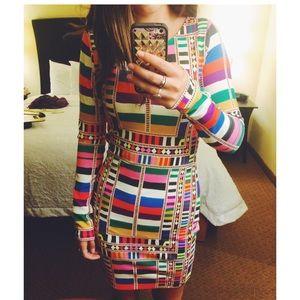 Mara Hoffman patterned bodycon dress